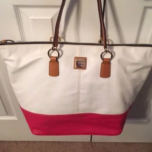Dooney and Bourke Lambskin Leather Tote